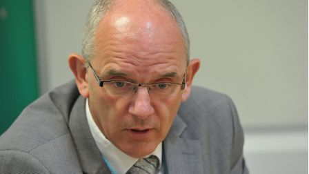 DCI Barry Byford of Suffolk Constabulary
