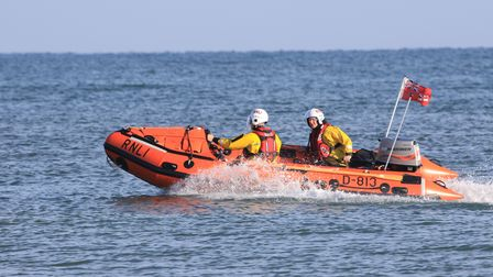 Happisburgh Lifeboat in action. Picture: Happisburgh Lifeboat Station