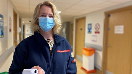 Pam Winfield, from NFRS hydrant team, has a nice and brother that works at the Norfolk and Norwich University Hospital.