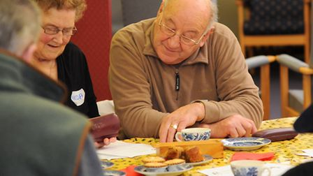 A new Dementia Cate opens in Attleborough Day Centre Picture by: Sonya Duncan
