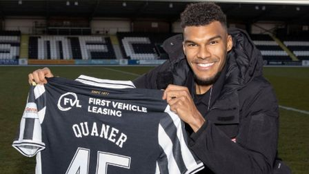 Collin Quaner joined St Mirren during the January transfer window