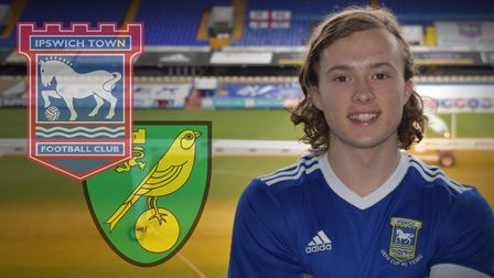 Luke Matheson is excited to get his Ipswich Town career started after joining on loan