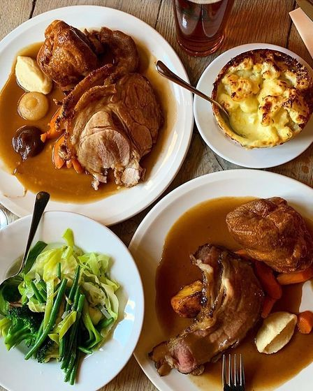 A Yorkshire pudding is a staple for any British roast dinner.