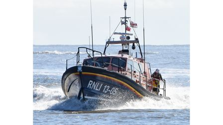 Lowestoft Lifeboat was launched in the search for a missing woman.