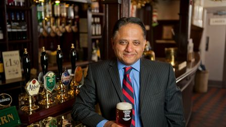 Rooney Anand, former chief executive of Greene King