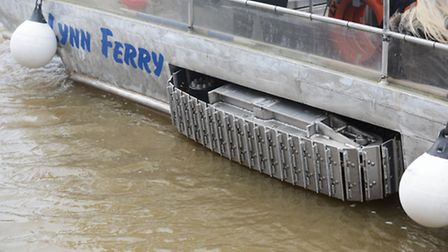 The new amphibious ferry service is up and running between King's Lynn and West Lynn. Picture: Ian B