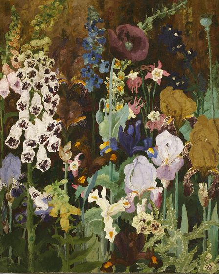 Foxglove is described as the 'quintessential' Sir Cedric Morris painting