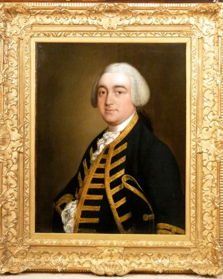 Thomas Gainsborough's portrait of Christopher Griffin Jr is described as 'uncomplicated and honest'