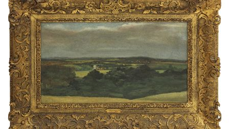 This painting is classic Constable Country