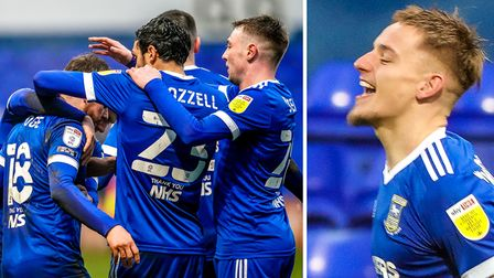 Alan Judge and Luke Woolfenden scored the goals as Ipswich Town beat Blackpool 2-0 yesterday
