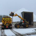 The gritters have been working to make Suffolk's roads safe during Storm Darcy