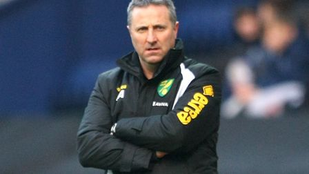 Neil Adams during Norwich City's FA Cup defeat at Preston. Picture by Paul Chesterton/Focus Images L