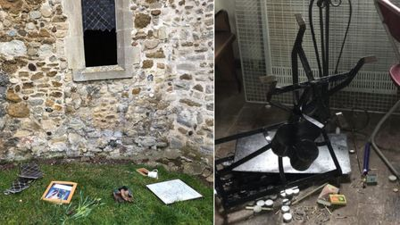 St Andrew's Church in Witchford wasbroken into over the weekend.