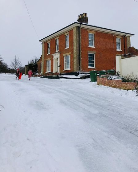 Reedham in the snow
