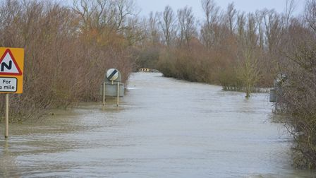 Photos taken from the Welney Delph bridge looking at the wash road and the river towards Downham Market.
