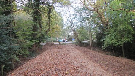 Land at High Kelling which theMelton Constable Trust has already bought for the Norfolk Orbital Railway project, looking...