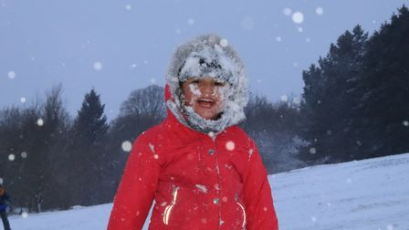Children and families made the most of the weather throughout the county