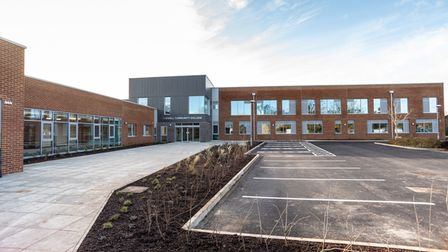 """The two-year £14.6million expansion at Cromwell Community College in Chatteris """"nears completion""""."""