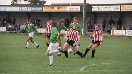 Gorleston football, 29th August 1992. Picture: Archant Library