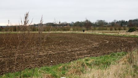 Part fo the site that was earmarked for the new Chilton Woods development near Sudbury