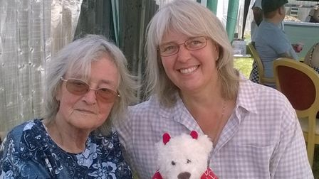 Ann Neale with daughter Jane Barber