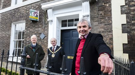 Number 90 London Road in King's Lynn has been restored by the King's Lynn Preservation Trust - From
