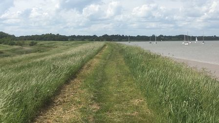 A continuous path is to be created from Felixstowe Ferry to Bawdsey