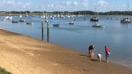 The beautiful Deben estuary will see new footpath links created to make a 41km trail