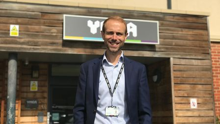 Chief Executive of the YMCA in Norfolk, Tim Sweeting. Picture: Ella Wilkinson