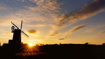 A beautiful rural sunset... but how does the reality of village life compare with the idyll?