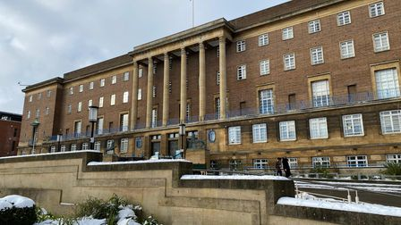 The hall, which is used by Norwich City Council, is another one of the Norwich 12