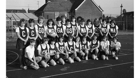 Were you in this Ipswich netball team in 1983?