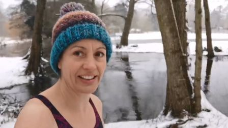 Emma Williams,the founder of Reflect Health and Wellbeing based in Thetford, has been filming herself swimming in the...