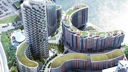 Ballymore will start work in April on removing cladding from New Providence Wharf