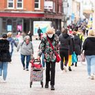 Shoppers out and about in East Anglia before the latest national lockdown