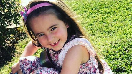Lily McKelvey, of Marks Tey,was diagnosed withdiffuse intrinsic pontine glioma (DIPG) - which affects just 20 children...