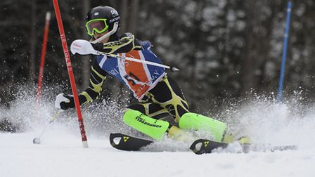 Tom Hudson, who trains at Norfolk Snowsports Club in Trowse, has been selected to represent Great Br