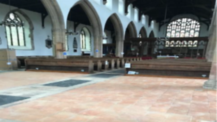 St Michael's Church in Beccles was highly commended in the Community Award category