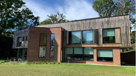 Nacton's Gainsborough House was joint-winner of the Design Award
