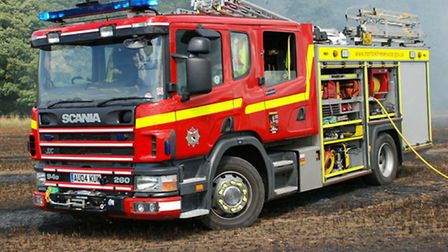 Firefighters were called to a cooker fire.