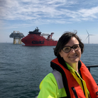 Sonja Chirico Indrebø, plant manager, Dudgeon Offshore Wind Farm.