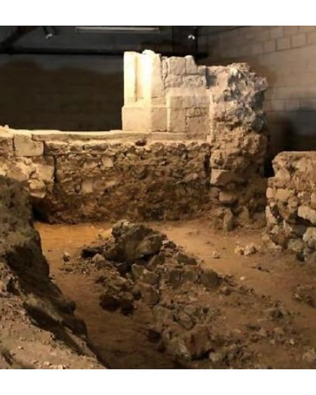 Foundations of St Mary de Graces