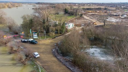 Persimmon Homes has no concerns over new 220 development at Whittlesey next to flooded B1040