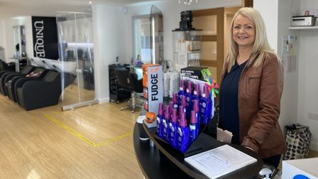 VictoriaPoole, owner of Unique Hair and Beauty Salon, in Thetford,is among hairdressers from across the UK who are...