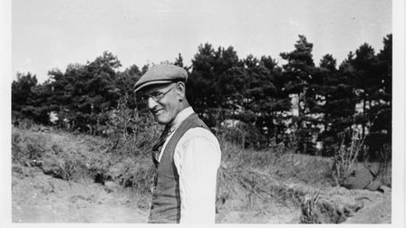 Self-taught archaeologist Basil Brown did various digs at West Stow, but it was in 1947 that he realised there must have...