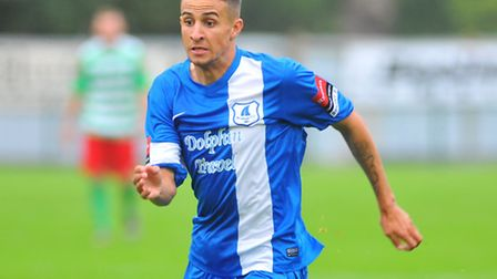 Remy Gordon and Wroxham are not playing tonight. Picture: STEVE ADAMS