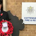 """Fire fighter Danny Granger who has died. """"He spent his life helping others,"""" said a colleague."""