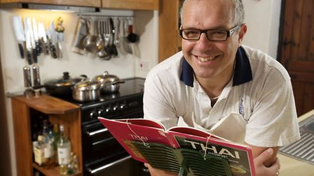 Richard Voisey, who works for NWES in Norwich and lives in Cawston, is on Come Dine with me with his
