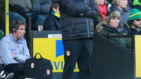 Cardiff Manager Russell Slade read the riot act to his players during a 3-2 Championship defeat at N