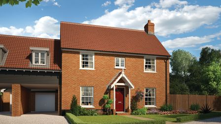 The Stanford is another Stowmarket home for sale